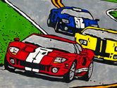 Ford GT Trio painting